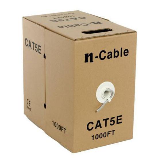 Picture of nBase NB-C5E-305 UTP CAT5e 305m CCA 24AWG Grey