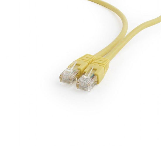 Picture of Gembird PP6U-1M / Y UTP Cat6 Patch 1m Yellow