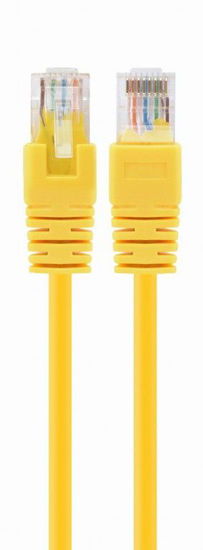 Picture of Gembird PP12-1M / Y CAT5e U-UTP Patch 1m Yellow