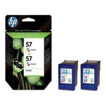 HP C9503AE (HP C6657) nr.57 Colour, dvojno pakiranje, originalna kartuša