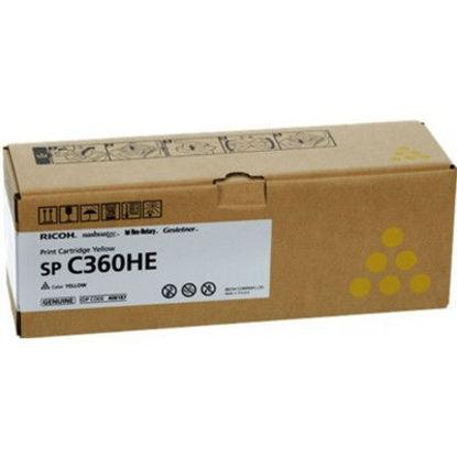 Ricoh SPC360HE Y (408187) Yellow, originalen toner