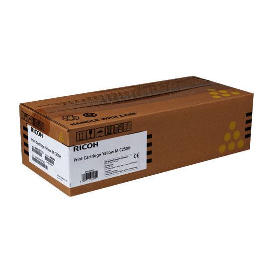 Picture of Ricoh M C250 (408355), Yellow, originalen toner