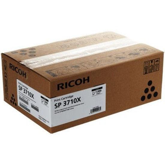 Picture of Ricoh SP3710X (408285) Black, originalen toner