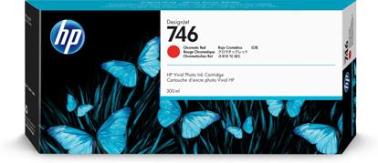 HP P2V81A nr.746 Chromatic Red, originalna kartuša