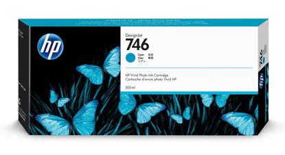 HP P2V80A nr.746 Cyan, originalna kartuša