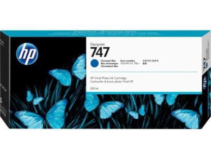 HP P2V85A nr.747 Chromatic Blue, originalna kartuša