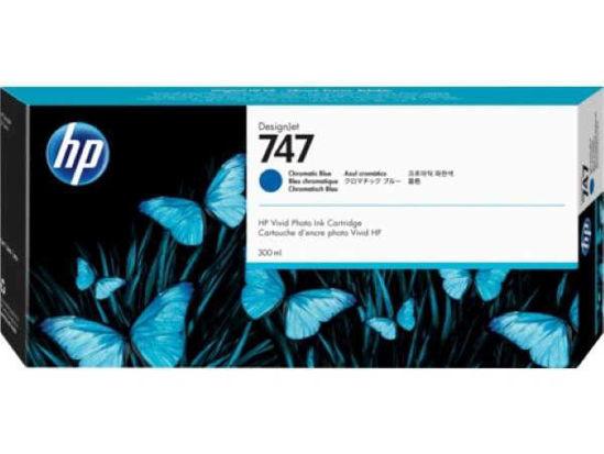 Picture of HP P2V85A nr.747 Chromatic Blue, originalna kartuša