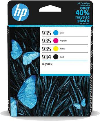 HP 6ZC72AE nr.934 BK/ nr.935 C/M/Y, komplet originalnih kartuš