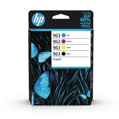 HP 6ZC70AE nr.963 BK/C/M/Y, komplet originalnih kartuš