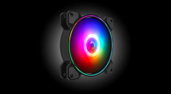 Picture of AIO 3xGFN12FZ12 RGB Black 3 pcs GAP0001