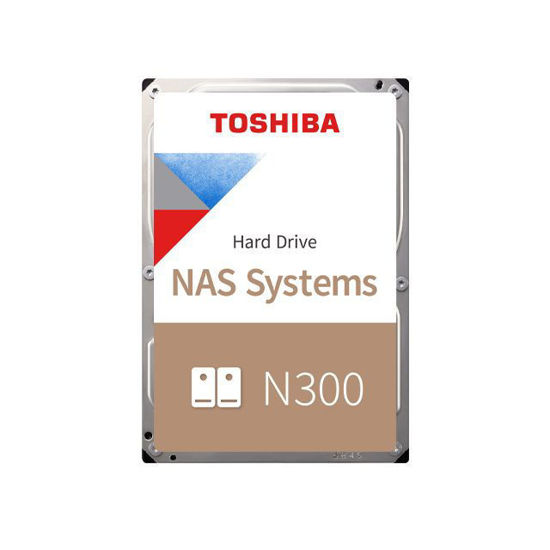 Picture of Toshiba 4TB 7200rpm SATA-600 128MB NAS HDWQ140UZSVA