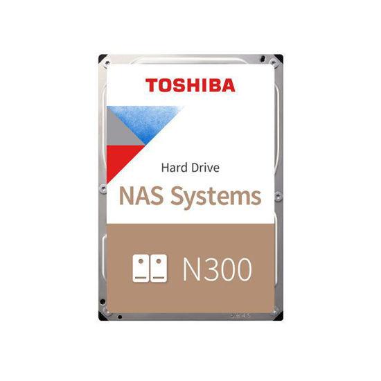Picture of Toshiba 8TB 7200rpm SATA-600 256MB N300 HDWG180EZSTA BOX