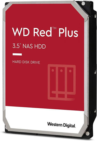 Picture of WD 4TB 7200rpm SATA-600 256MB Red Plus WD40EFZX