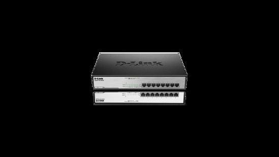 Picture of D-Link DGS-1008MP 8-Port Desktop Gigabit Max PoE Switch