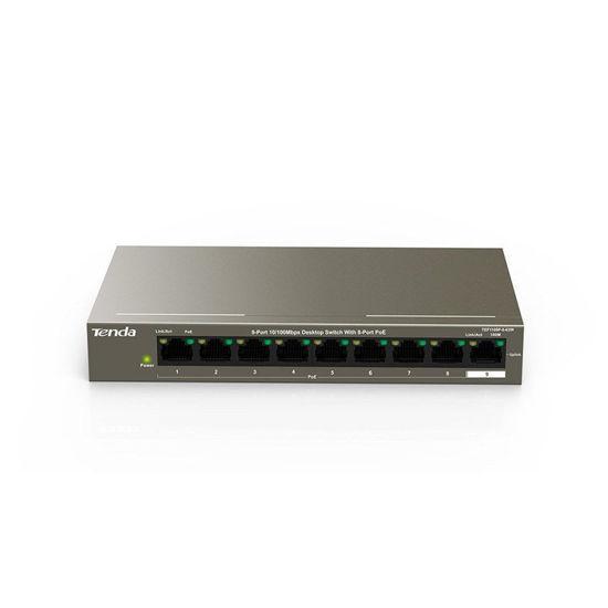 Picture of Tenda TEF1109P-8-63W 9-Port (8-Port PoE) Desktop Switch
