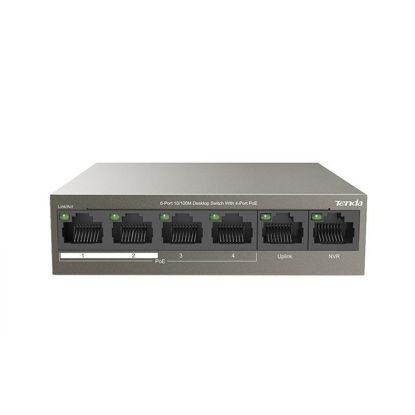 Tenda TEF1106P-63W 6-Port (4-Port PoE) Desktop Switch