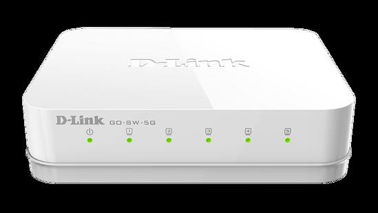 Picture of D-Link GO-SW-5G 5 Port Gigabit Desktop Switch