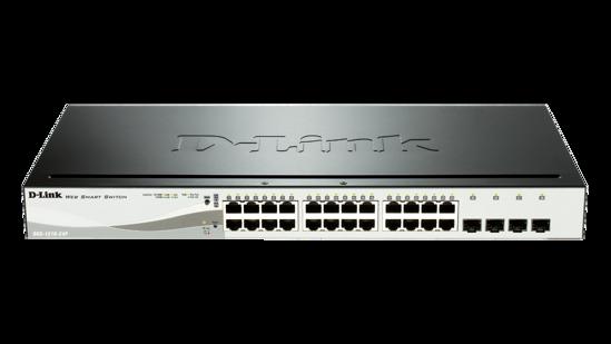Picture of D-Link DGS-1210-24P 24 Port Gigabit Smart Switch