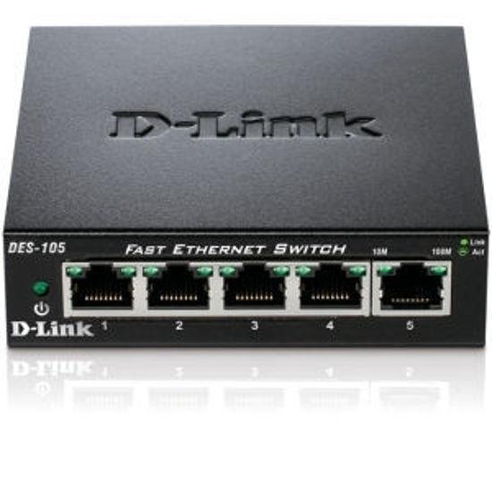 Picture of D-Link DGS-105/E 5 Port Gigabit Ethernet Switch