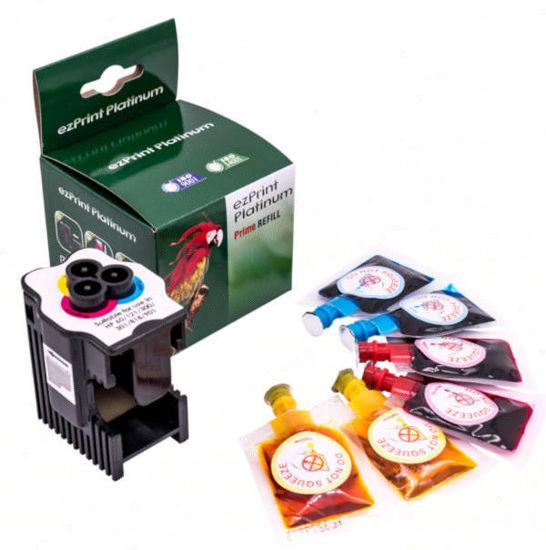 Picture of ezPrint Canon HP nr.300/301/302/304/901 + 3x 8ml (CMY), polnilni set