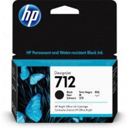 HP 3ED70A nr.712, Black, originalna kartuša