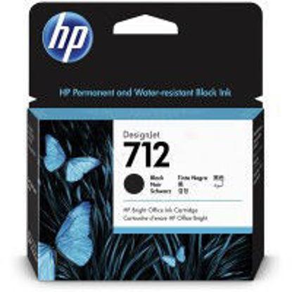 HP 3ED71A nr.712, Black, originalna kartuša