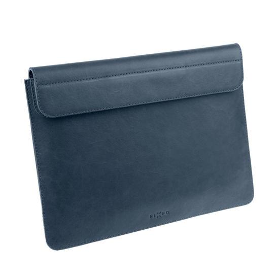 "Picture of FIXED FIXOX2-AIR13R-BL Leather Oxford (MacBook Air) 13"" Blue, torba za prenosnik"