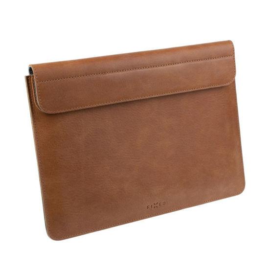 """Picture of FIXED FIXOX2-PRO13-BRW Leather Oxford (MacBook Pro) 13"""" Brown, torba za prenosnik"""