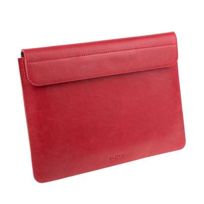 "FIXED FIXOX2-PRO13-RD Leather Oxford  (MacBook Pro) 13"" Red, torba za prenosnik"