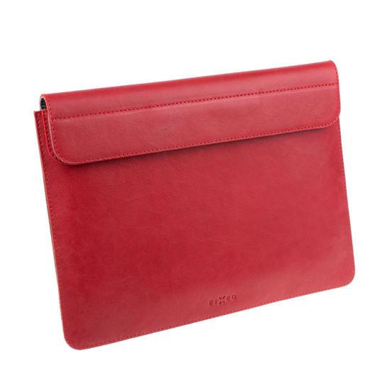 """Picture of FIXED FIXOX2-PRO13-RD Leather Oxford  (MacBook Pro) 13"""" Red, torba za prenosnik"""