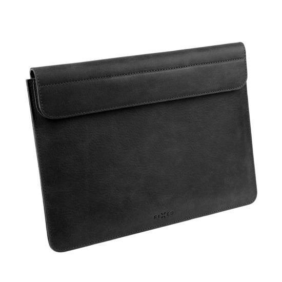 "Picture of FIXED FIXOX2-PRO13-BK Leather Oxford (MacBook Pro) 13 "" Black, torba za prenosnik"