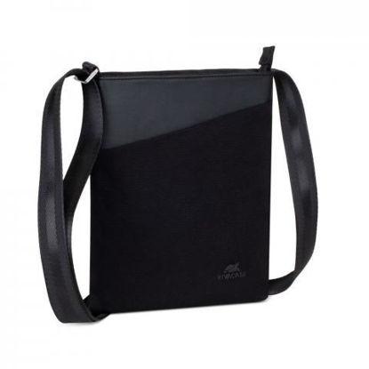 RivaCase 8509 Canvas Crossbody Black, torba