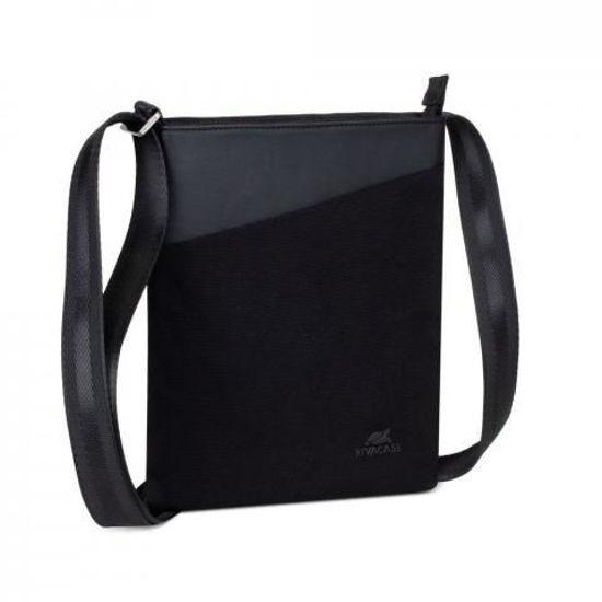 Picture of RivaCase 8509 Canvas Crossbody Black, torba