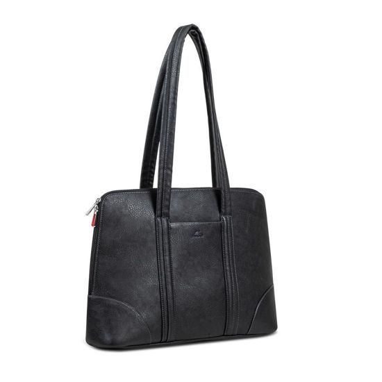 """Picture of RivaCase 8992 (PU) 14 """" MacBook Pro 16"""" Black, ženska torba za prenosnik"""