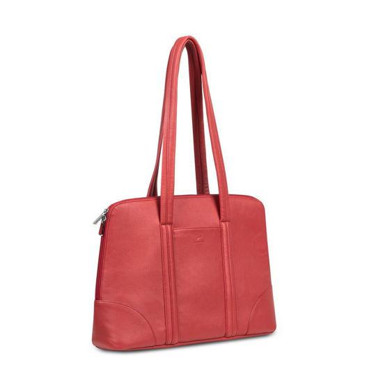 "Picture of RivaCase 8992 (PU) 14 "" MacBook Pro 16"" Red, ženska torba za prenosnik"