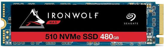 Picture of Seagate 480GB M.2 2280 NVMe IronWolf 510 ZP480NM30011