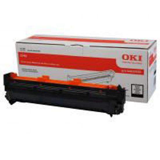 Picture of Oki C910 (44035520) Black, originalen boben