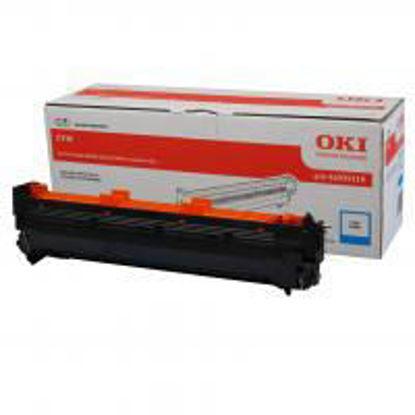 Oki C910 (44035519) Cyan, originalen boben