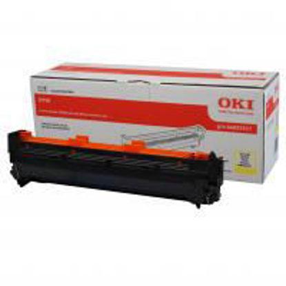 Oki C910 (44035517) Yellow, originalen boben