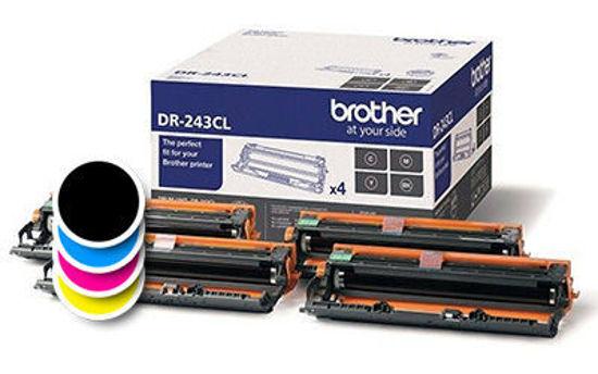 Picture of Brother DR-243CL (DR243CL) C/M/Y/K, originalen boben