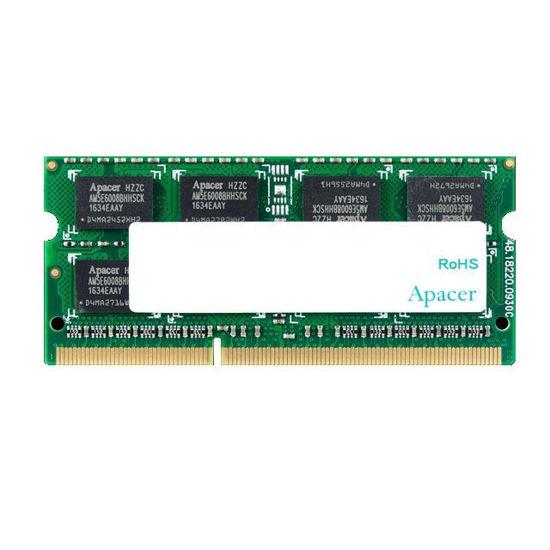 Picture of Apacer 8GB DDR3L 1600MHz SODIMM DV.08G2K.KAM