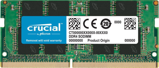 Picture of Crucial 16GB DDR4 2666MHz SODIMM CT16G4SFRA266