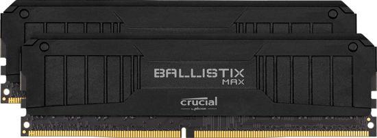 Picture of Crucial 16GB DDR4 4400MHz Kit (2x8GB) Ballistix Max Black BLM2K8G44C19U4B