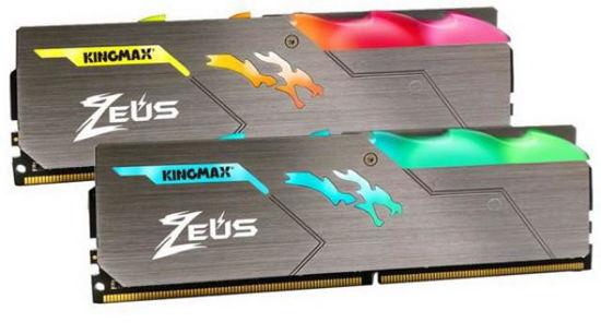 Picture of Kingmax 16GB DDR4 3200MHz Kit (2x8GB) Zeus Dragon KM-LD4-3200-8GHD