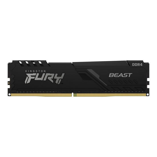 Picture of Kingston 16GB DDR4 2666MHz Fury Beast Black KF426C16BB1 / 16