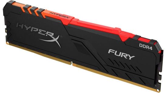 Picture of Kingston 8GB DDR4 3466MHz HyperX Fury RGB Series HX434C16FB3A / 8