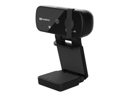Sandberg Pro+ 4K (133-98) Black, spletna kamera