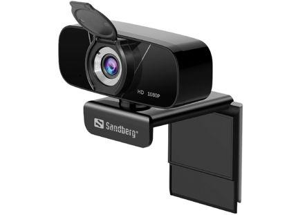 Sandberg Chat Webcam 1080P Full HD (134-15) Black, spletna kamera