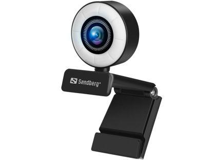 Sandberg Streamer USB Full HD (134-21) Black, spletna kamera