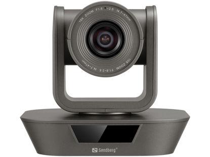 Sandberg ConfCam PTZ x10 Remote 1080P (134-30) Black, spletna kamera